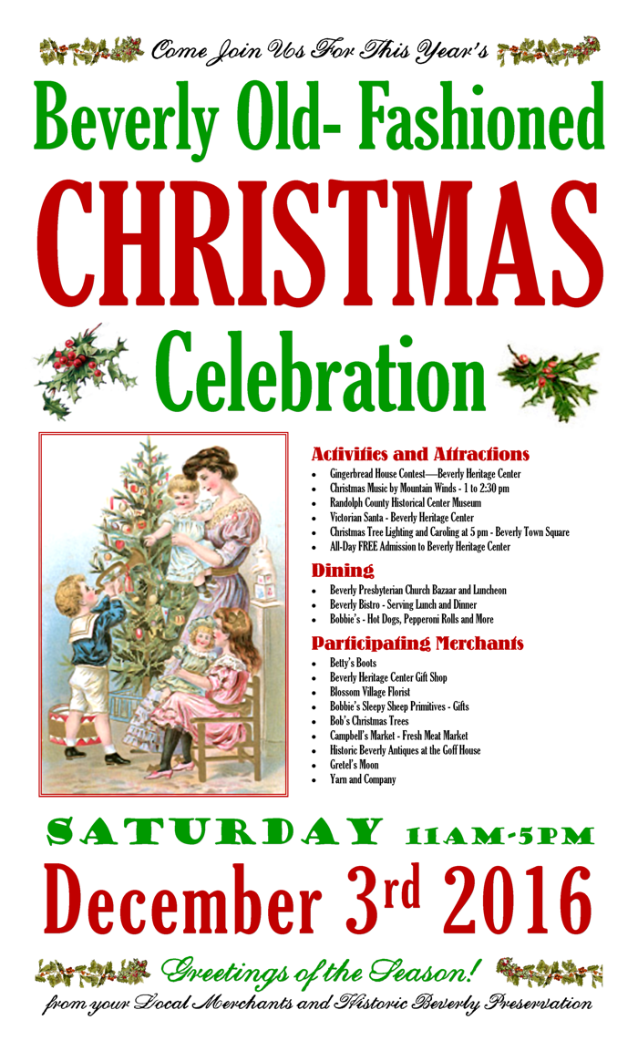 BHC: Beverly Old-Fashioned Christmas 2014